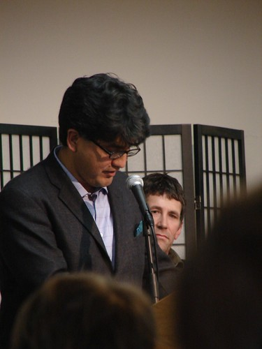 Sherman Alexie reads some new poetry