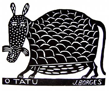 O tatu - J.Borges by Galeria de Gravura