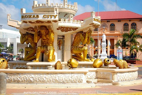 Roxas City Fountain and Capiz Capitol