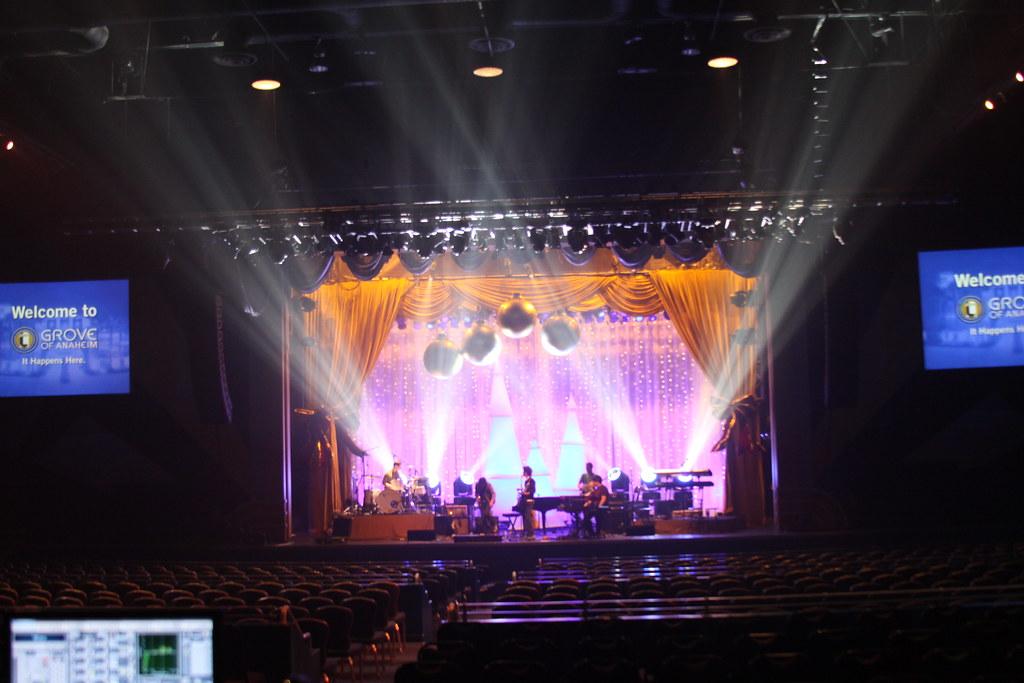 Theatrical Drapery Scene for David Archuleta Concert