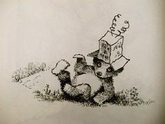 Else Holmelund Minarik, Maurice Sendak, Storie di orsacchiotto, ©BUR Ragazzi 2009; p. 48 (part.) 1