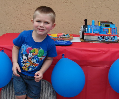 Gavin's 3rd Birthday Party