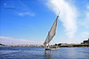 Autumn Breeze... (SonOfJordan) Tags: trip travel blue light sky cloud colour water canon river eos boat cool wind egypt nile breeze aswan xsi felluca 450d samawi sonofjordan shadisamawi wwwshadisamawicom