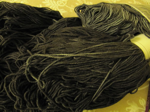 Merino yarn for Mark's 'marriage sweater'