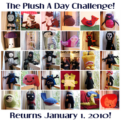 Plush A Day Challenge - Temporary Winter Hibernation!