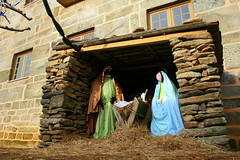 Nativity at Castelo Rodrigo (Cracas) Tags: christmas portugal preserved vtor castelorodrigo nativitiyscene historicalvillage cracas