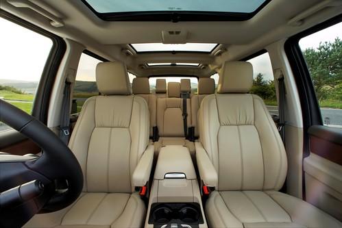 2011 Land Rover Lr4 Interior. LR4 Interior