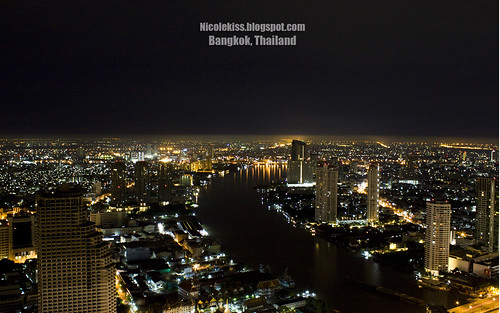 Bangkok Night Scene 2 wallpaper 1280x800