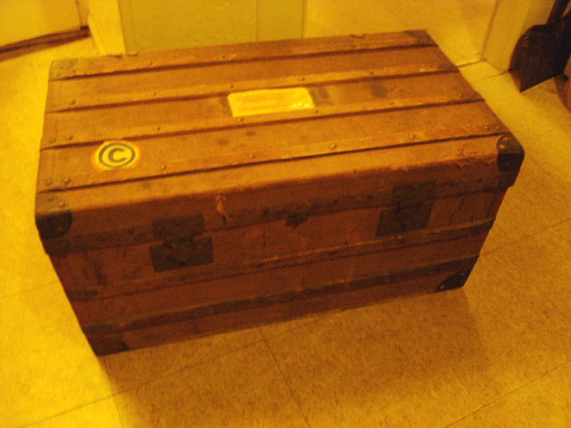 Flat Top Steamer Trunk