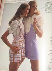 Bib Shorts (Pennelainer) Tags: mod 1960s seventeen 60sfashion modfashion
