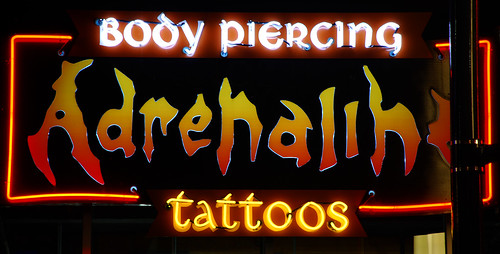 Adrenaline tattoos and body piercing. asylum – Dustin