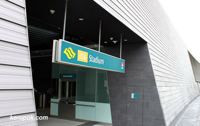 Circle Line Station CC6 - Stadium
