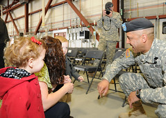 COL Miller Greets Family Members (U.S. Army Fort Drum & 10th Mountain Division) Tags: usarmy fortdrum changeofcommand 10thmountaindivision 2ndbrigadecombatteam