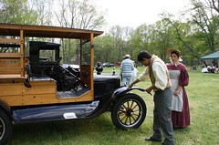"""Where's the horse?"" (The Historic Village at Allaire) Tags: antiqueauto funnybusiness 2011 thehistoricvillageatallairespiritofthejerseysnjhistoryfairallairestateparkspring njhistorymonmouthcountynj"
