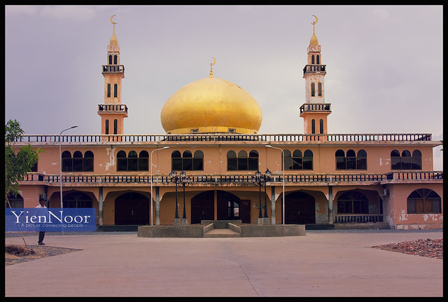 Dubai Mosque at Phnom Phen