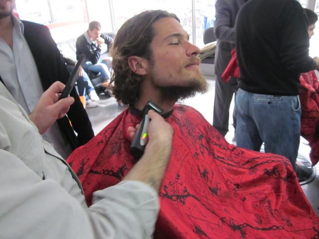 Beard be gone!