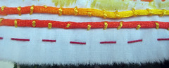 prayer flag project #1 ~ detail