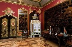 Cabinet chinois de l'est du palais de Peterhof à Saint-Pétersbourg