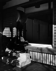 Kyoto - Zuiganzan Enkouji Temple (* Daniel *) Tags: polaroid polaroid110a polaroidlandcamera markdaniel markdanielphotocom landcamera ilford ilfordfp4 ilfordfp4plus microphen ilfordmicrophen fp4 fp4plus kyoto japan sheetfilm 4x5sheetfilm ilfordfp4plussheetfilm film filmgrain convertedpolaroid temple mono monochrome monochromejapan filmdev:recipe=11178 ilfordfp4125 film:brand=ilford film:name=ilfordfp4125 film:iso=80 developer:brand=ilford developer:name=ilfordmicrophen