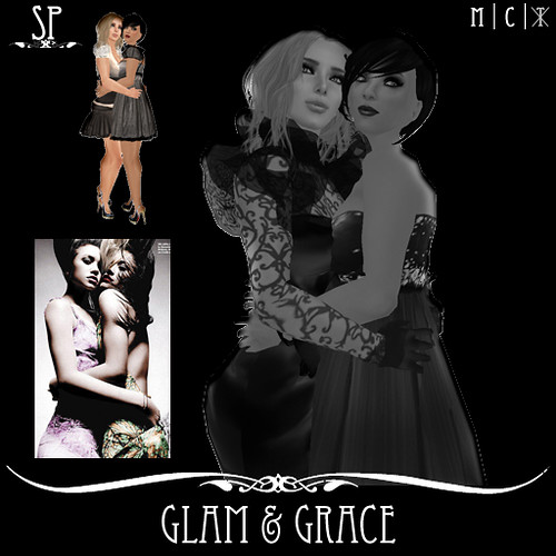 Glam and Grace Couples Pose