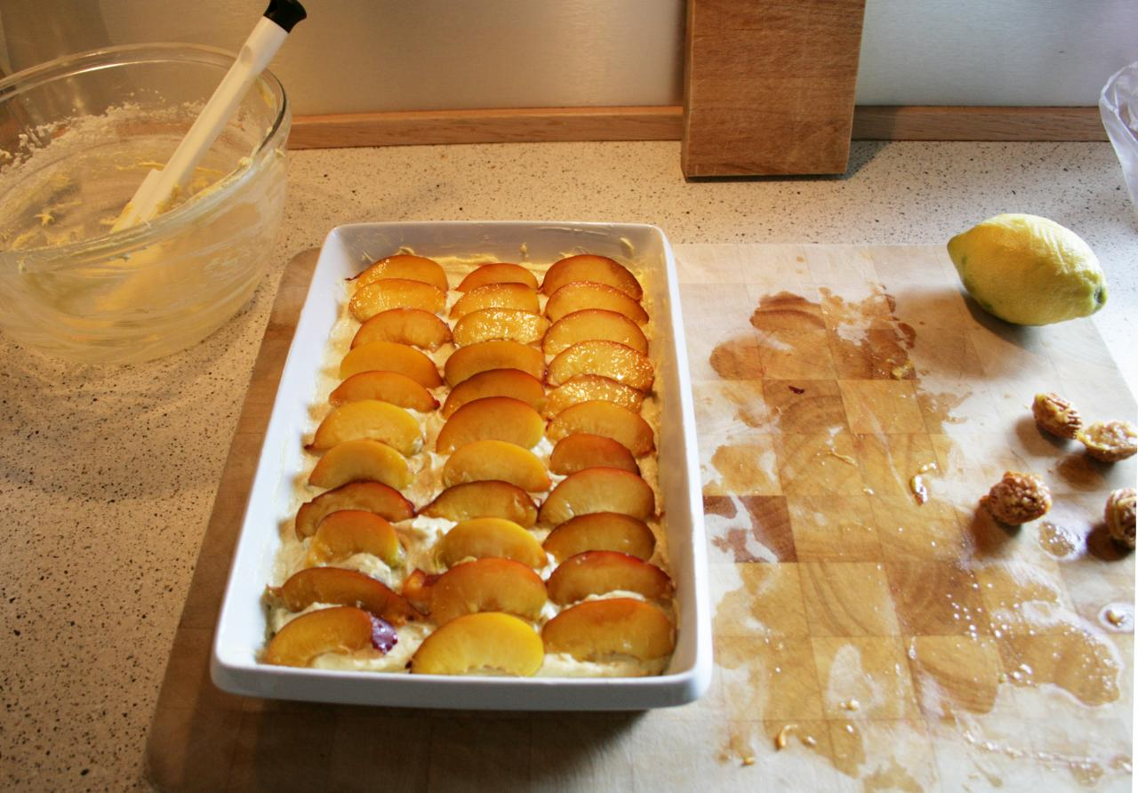 Making nectarine squares
