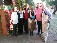 UKZN Press Team: Trish Comrie, Adele Branch, Elana Bregin, Debra Primo, Leslie Goddard and Glenn Cowley