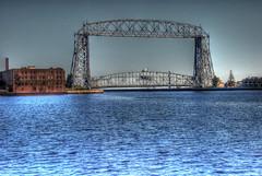Duluth's Aerial Lift Bridge (WorldofArun) Tags: trip travel bridge summer lake up minneso