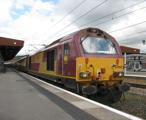 "67002 ""Special Delivery"" at York"