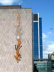 Brussels street art - Bonom fox (_Kriebel_) Tags: street brussels urban art de graffiti la belgium belgique belgië bruxelles rue brussel kriebel bonom