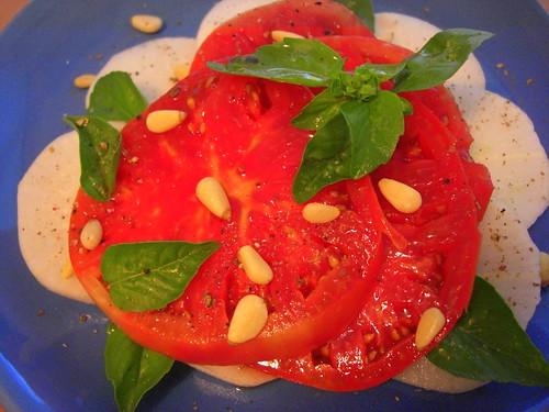 Tomato-Radish Salad