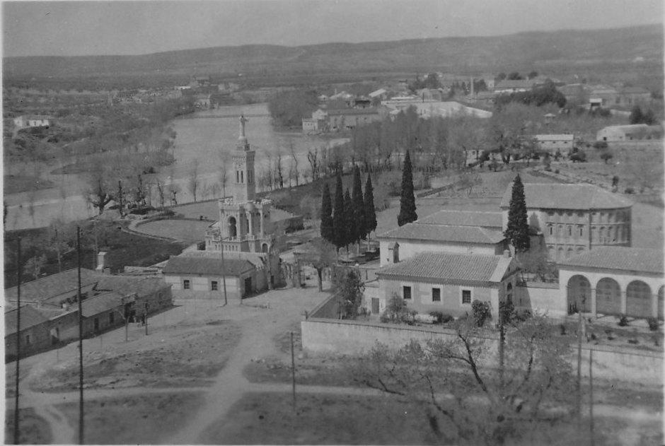 Ermita del Cristo de la Vega (Toledo) en 1936. Fotografía de Eduardo Butragueño Bueno