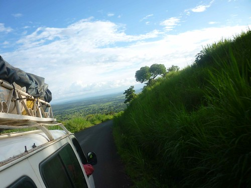 Road from Kumbo to Bamenda