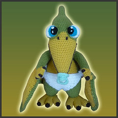 Tutorial Amigurumi Dinosaurio : The Worlds Best Photos of pterosaur and toy - Flickr Hive ...