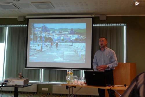 Hillar Kukk Kuressaare merekonverentsil