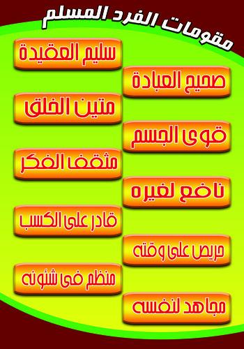 مقومات الفرد المسلم