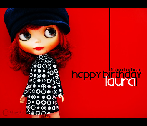 HAPPY BIRTHDAY, LAURA!
