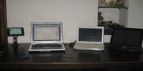 My Desk in Taipei