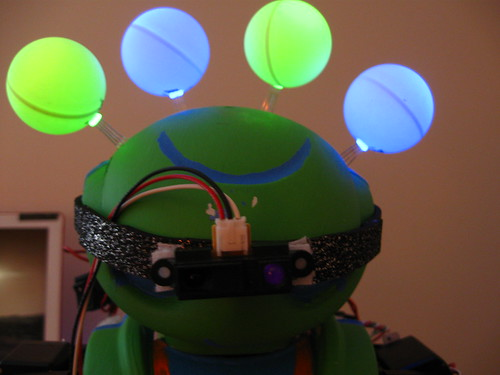 Friday Night Robotics - RGB LEDs + IR Sensor