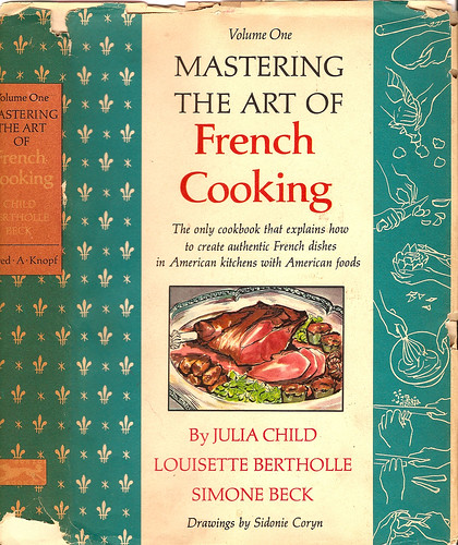mastering the art of french cooking front cover