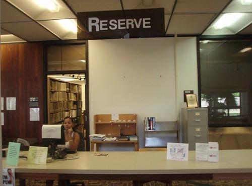 Reserve Desk