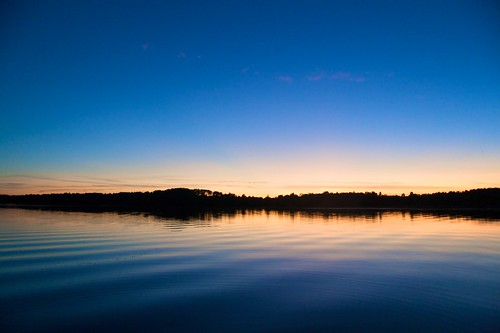 Sunset at Pickerel Lake by alumroot