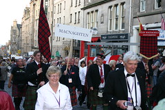 Clan MacNaughton - The Clan Parade - The Gathering 09