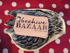 Beehive Bazaar on wing plate