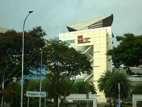 My Images Of Singapore: Side View Of ITE COLLEGE EAST Building