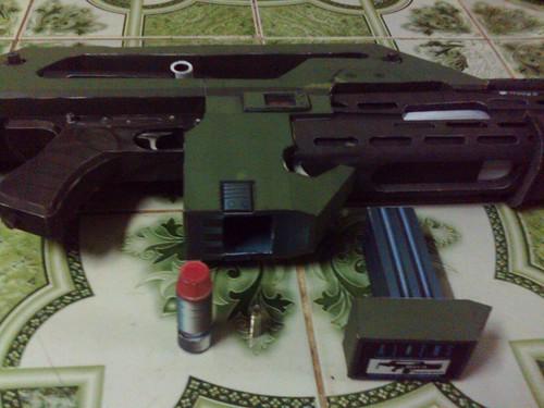 M41-A khẩu súng hầm hố nhất Mô Hình Giấy Thời Điểm Hiện Tại 3893260314_bd63064c88