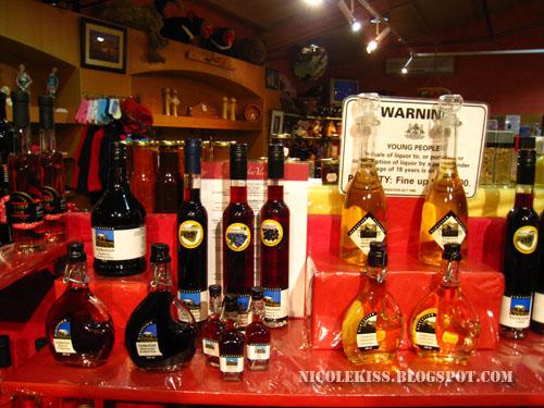 tasmania fruit liquors