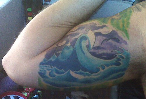 Surf Art Tattoo - Art by Surf Artist Jay Alders. Anyone can see this photo