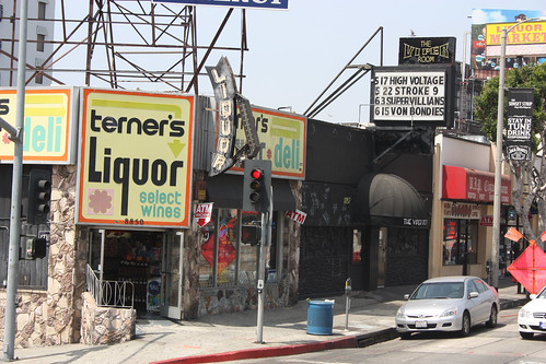 The Viper Room where River Phoenix died