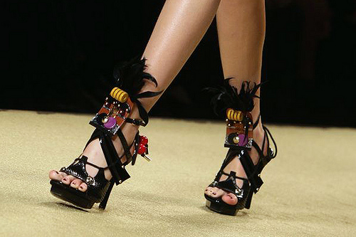 calçados verão 2010