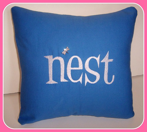 nest - pillow cover